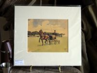 Hackney Pony with carriage - Lionel Edwards - Hor E32